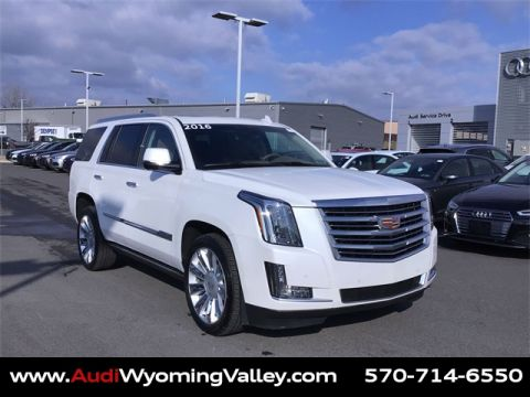 Pre-Owned 2016 Cadillac Escalade Platinum Edition 4WD 4D Sport Utility