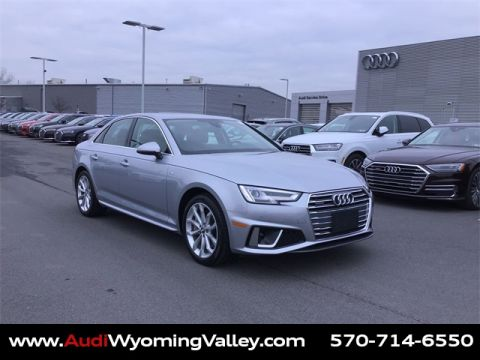 Pre-Owned 2019 Audi A4 2.0T Premium Plus quattro 4D Sedan