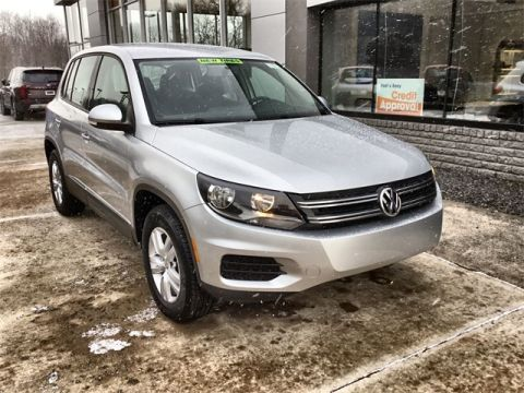 Pre-Owned 2012 Volkswagen Tiguan S AWD 4D Sport Utility